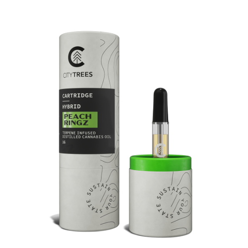 Peach Ringz Distillate Cartridge - 1g